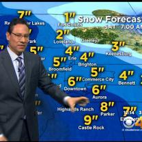 Friday Afternoon Forecast: Snow, Rain, Wind
