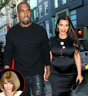 Kim Kardashian, Kanye West Dine With Anna Wintour at Her NYC Home