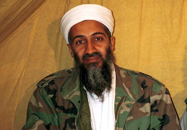 FILE - This undated file photo shows al Qaida leader Osama bin Laden in Afghanistan. A new book due out Tuesday, Oct. 16, 2012 says President Barack Obama hoped to put Bin Laden on trial if he had surrendered during a U.S. raid. Author Mark Bowden quotes the president as saying he thought he could make a strong political argument for giving bin Laden the full rights of a criminal defendant, to show U.S. justice applies even to him. In &quot;The Finish,&quot; Bowden writes, however, that Obama said he expected the terror leader to go down fighting. (AP Photo)
