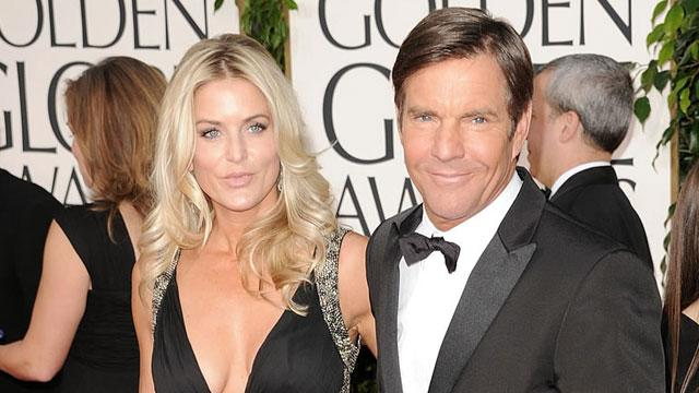 Dennis Quaid's Wife Re-Files for Split