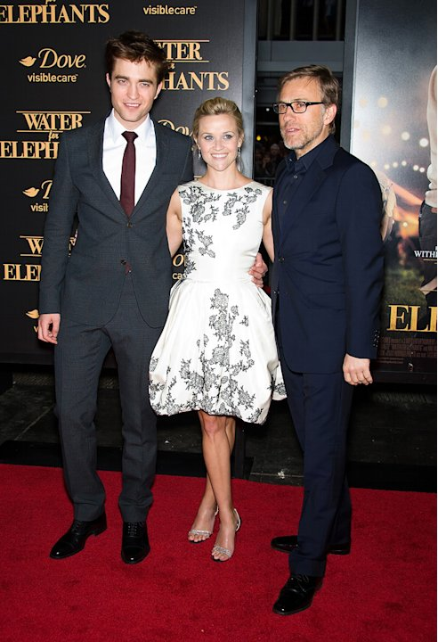 Water for Elephants NY Premiere 2011 Robert Pattinson Reese Witherspoon Christoph Waltz