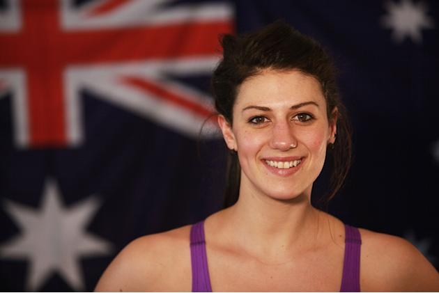 Australian Swim Team Portraits