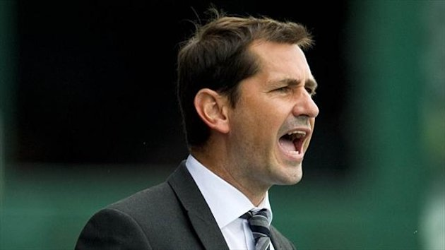 Jackie McNamara was unhappy with the referee's performance
