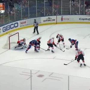 Steve Mason Save on Nick Leddy (05:57/1st)