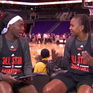 Tamika Catchings answers fan questions live from WNBA All-Star