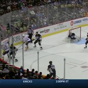 Sidney Crosby Hit on Eric Nystrom (00:36/1st)