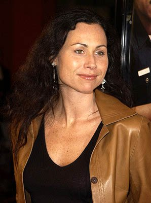 Minnie Driver at the Hollywood premiere of Warner Brothers' Showtime