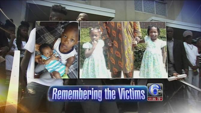 Funeral held for children killed in SW Phila. fire