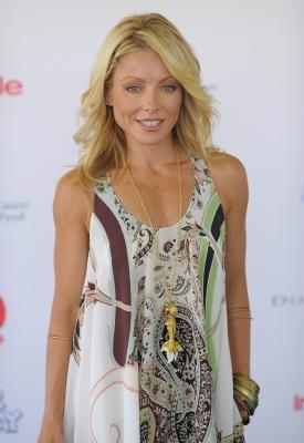 Kelly Ripa attends Super Saturday 12 to Benefit Ovarian Cancer Research Fund hosted by InStyle Magazine at Nova's Ark Project on August 1, 2009 in Water Mill, New York -- Getty Images