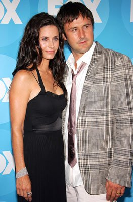 Courteney Cox Arquette and David Arquette 2006 FOX TCA Summer Party Photos Pasadena, CA - 7/25/2006