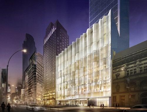 Central Park Tower's Nordstrom Flagship Gets Its First Render