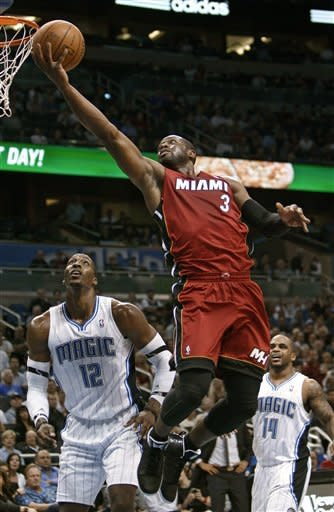 Magic hit 17 3-pointers in 102-89 win over Heat