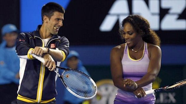 Novak Djokovic, Serena Williams (Reuters)
