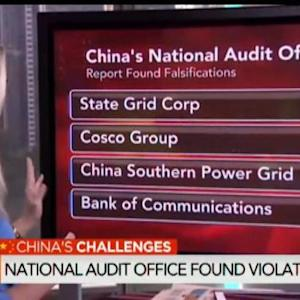China's Auditor Says State Firms Falsified Revenue