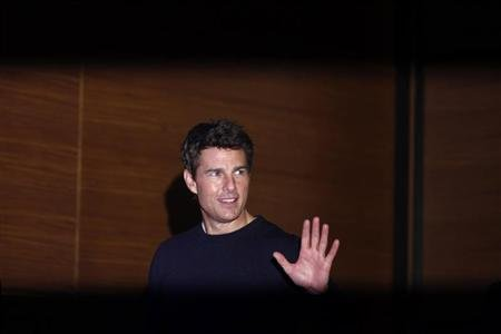 Actor Tom Cruise attends a news conference to promote his new movie &quot;Jack Reacher&quot; at a hotel in Seoul January 10, 2013. REUTERS/Kim Hong-Ji