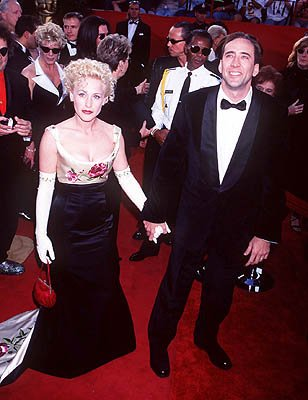 Patricia Arquette and Nicolas Cage 69th Annual Academy Awards Los Angeles, CA 3/24/1997