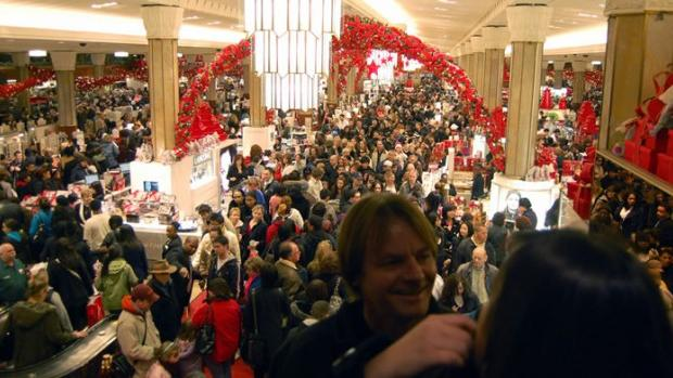 Malls plan to track shopper locations through cell phones on Black Friday