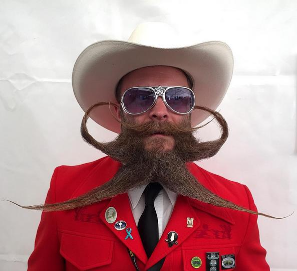 A Look at Some of the Craziest Facial Hair From the World Beard and Moustache Championships