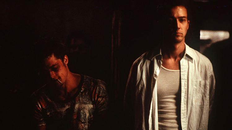 Fight Club 20th Century Fox Production Photos 1999 Brad Pitt Ed Norton