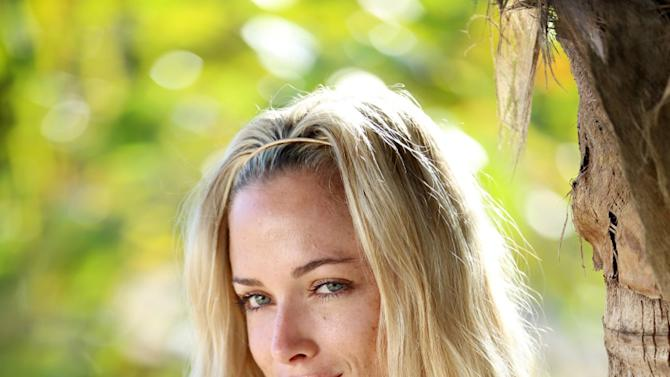 In this undated handout publicity photo supplied by Stimulii taken on the island of Jamaica, Reeva Steenkamp poses on set during the shooting of the reality show Tropika Island of Treasure which premieres on state television Saturday, Feb 16, 2013. South Africa's national broadcaster says it will screen the show featuring the dead model girlfriend of double-amputee athlete Oscar Pistorius, two days after she was shot and killed at Pistorius' home. (AP Photo/Courtesy of Stimulii-HO)