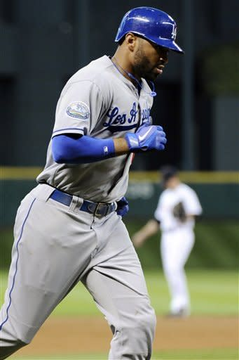 Kemp hits 8th home run, Dodgers beat Astros 3-1