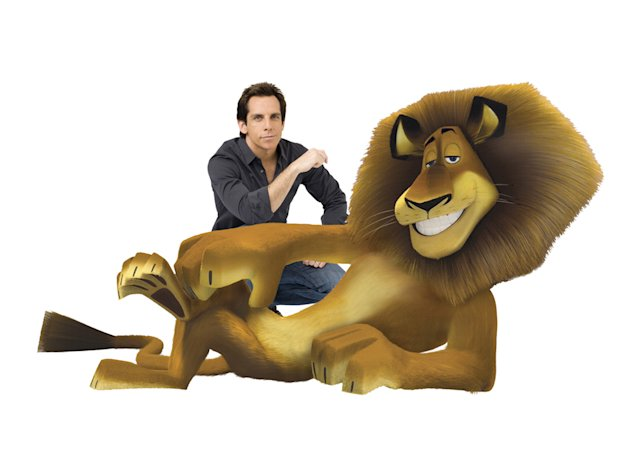 Ben Stiller Madagascar: Escape 2 Africa Production Stills DreamWorks 2008