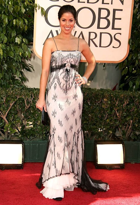 Ana Ortiz at the 64th annual Golden Globe Awards.