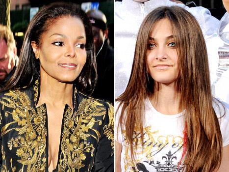"Janet Jackson in ""Huge Dispute"" With Family Over Paris' Film Role"