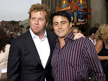Premiere: McG and Matt LeBlanc at the LA premiere of Columbia's Charlie's Angels: Full Throttle - 6/18/2003