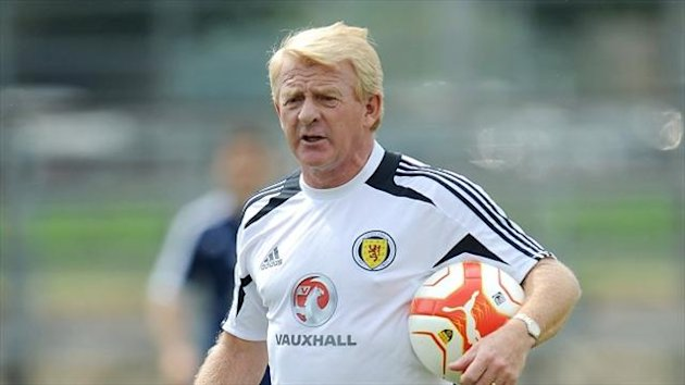 Gordon Strachan's Scotland take on Macedonia in Skopje on Tuesday night