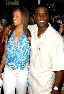 Premiere: Blair Underwood and wife Desiree at the Beverly Hills premiere of Paramount Pictures' The Manchurian Candidate - 7/22/2004