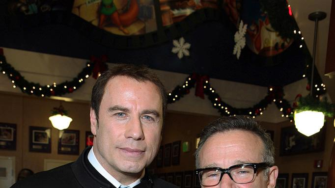 Old Dogs LA premiere 2009 John Travolta Robin Williams