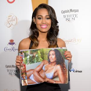 American professional basketball player Skylar Diggins attend the 2014 Sports Illustrated Swimsuit 50th Anniversary Issue kickoff event at Swimsuit Beach House on Tuesday, Feb. 18, 2014, in New York. (Photo by Evan Agostini/Invision/AP)