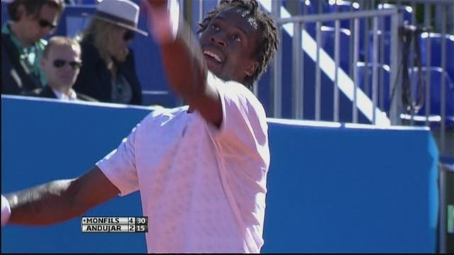 Monfils to face Montanes in the Nice Open final