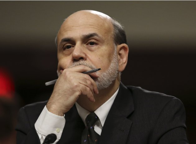 Federal Reserve Board Chairman Bernanke testifies before the Joint Economic Committee in Washington