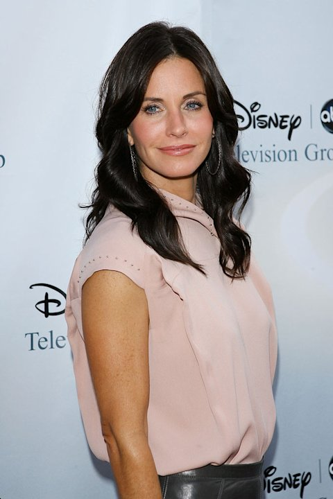 Courteney Cox Arquette arrives to the 2009 Disney-ABC Television Group Summer TCA Tour held at The Langham Resort on August 8, 2009 in Pasadena, California.