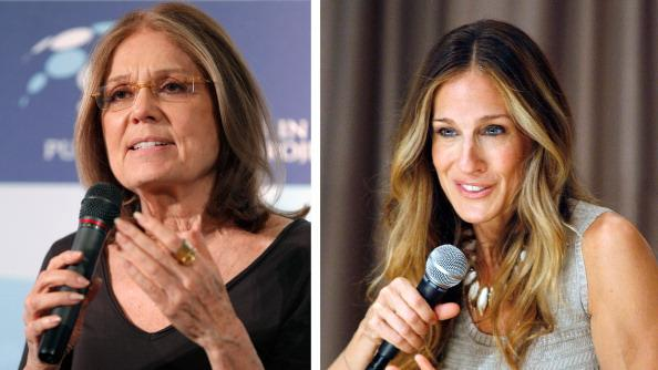 FILE PHOTO:  Sarah Jessica Parker To Play Gloria Steinem In Biopic Role
