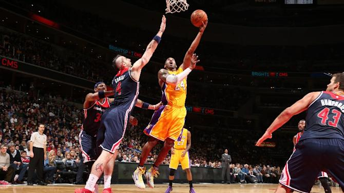 Beal leads Wizards in 111-95 win over Kobe, Lakers