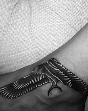 Are You Feeling Rihanna's New Falcon Tattoo?