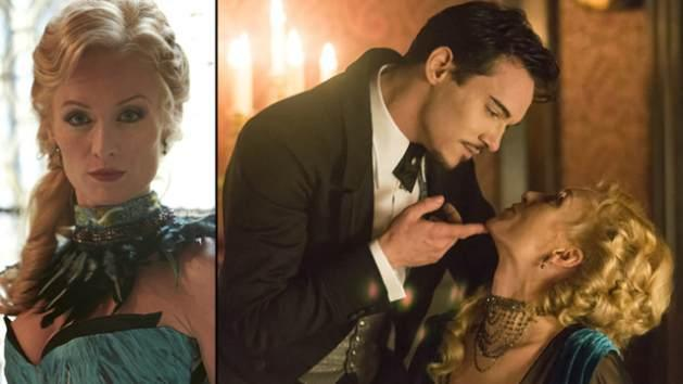 Victoria Smurfit in 'Dracula' with Jonathan Rhys Meyers -- NBC