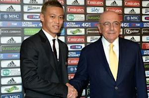 Keisuke Honda's schoolboy essay predicted Serie A move