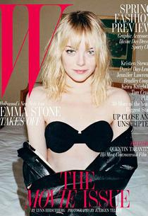 Emma Stone  | Photo Credits: W Magazine