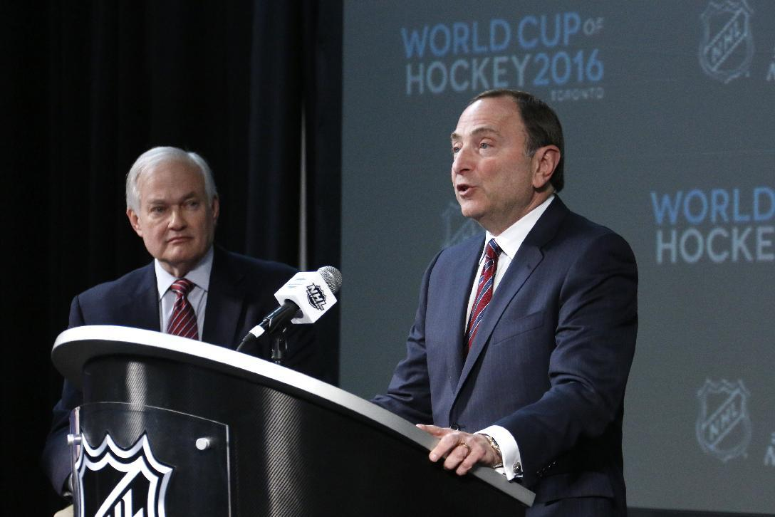 World Cup domination: NHL, NHLPA shooting for hockey supremacy on a global scale