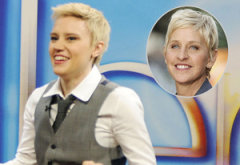Kate McKinnon, Ellen DeGeneres  | Photo Credits: Dana Edelson/NBC, Noel Vasquez/Getty Images