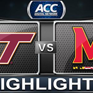 Virginia Tech vs Maryland | 2014 ACC Basketball Highlights