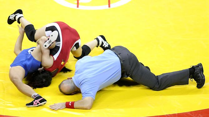 Wrestling and Judo Olympic Trials Day One