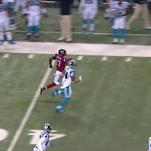 Atlanta Falcons wide receiver Hester 66-yard kickoff return