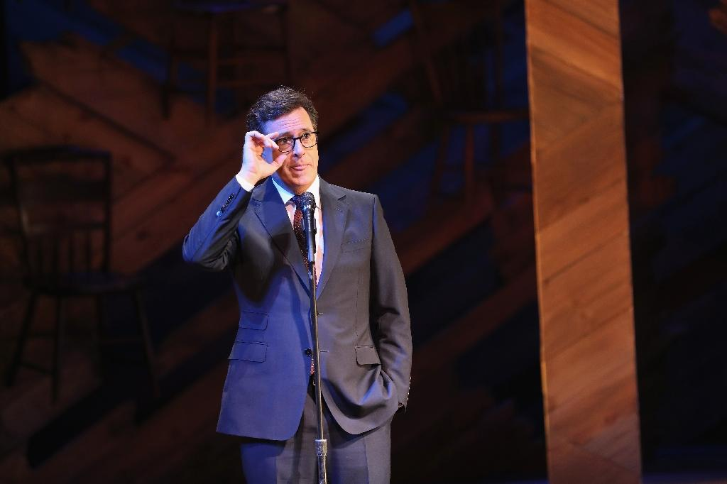 Comedian Stephen Colbert to host Emmys
