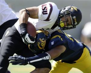 Kelly leads Arizona State past California 27-17