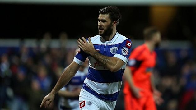 Charlie Austin is sweating over a shoulder injury